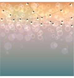 Bokeh blurred background vector image vector image
