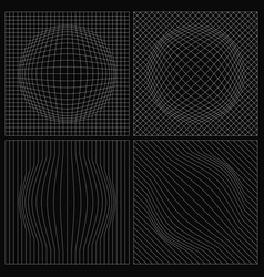 Abstract netting with bulge vector