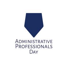 Administrative professionals day secretaries day vector