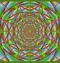 cobweb on bright backdrop vector image