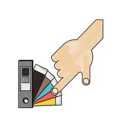 Color guide palette picker vector