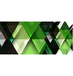 colorful repeating triangles modern geometric in vector image