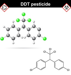DDT molecules vector
