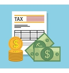 Goverment taxes payday vector