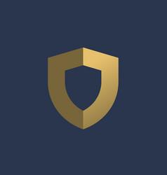 letter j shield logo icon design template elements vector image