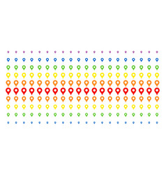 Map pointer shape halftone spectrum effect vector