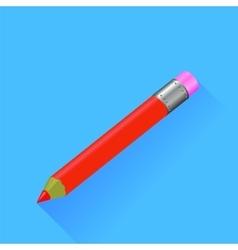 Red Pencil vector