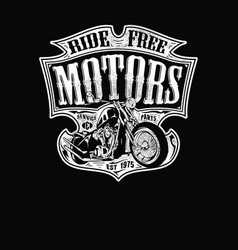 Ride free motors vector