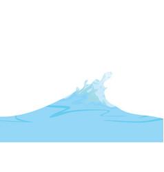 sea wave vector image
