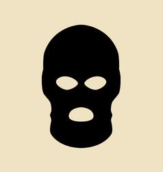 terorist vector image
