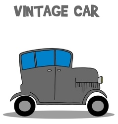 Vintage car art vector