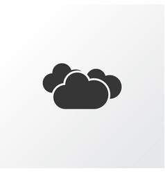 Overcast icon symbol premium quality isolated vector