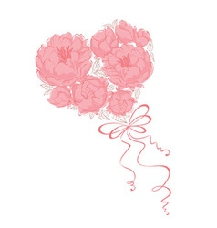 Bridal Bouquet - vector image