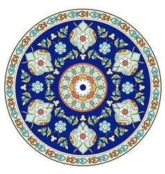 Artistic ottoman pattern series eleven vector