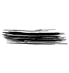 Ink brush strokes background vector
