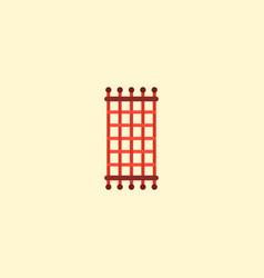 needlework icon flat element vector image