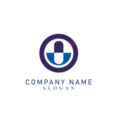 Pharmacy logo 2 vector