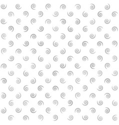 Spiral background gray and white seamless pattern vector