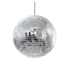 disco shiny ball vector image vector image
