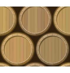 Barrel stand seamless background vector