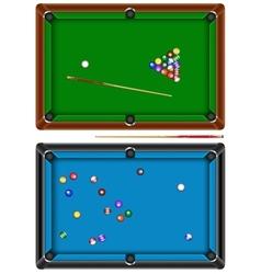 Billiard table vector