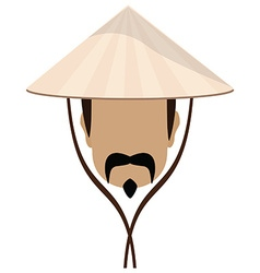 Chinese man vector