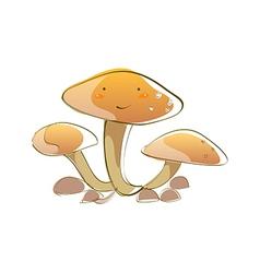 Icon mushroom vector