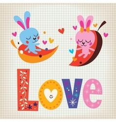 Love 7 vector