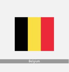 national flag belgium belgian country flag vector image