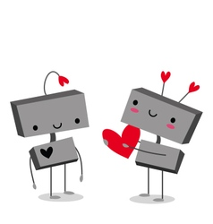 Robot Love vector