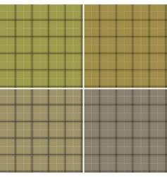 Scottish patterns vector image