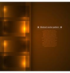 geometric background with luminous vector image