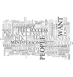 Are you successful text word cloud concept vector
