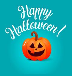 halloween template banner vector image