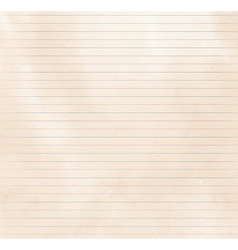 Lined paper texture vector