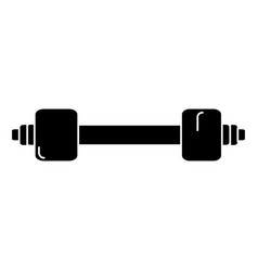 weight lifting gym icon vector image vector image
