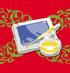 Digital art vector