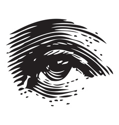Eye vector image