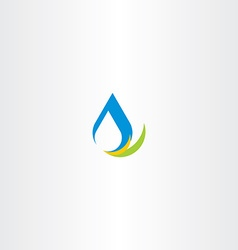 fresh water icon logo sign vector image