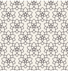 Seamless background in Arabic style vector image