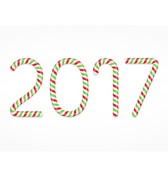 2017 Candy Canes vector