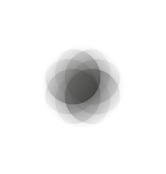 creative icon - circle decorative element vector image