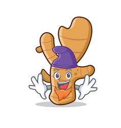 Elf ginger character cartoon style vector