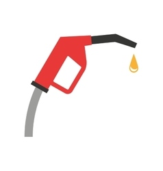 Gun fuel service station vector