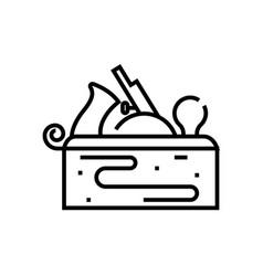 insrtuments sets line icon concept sign outline vector image