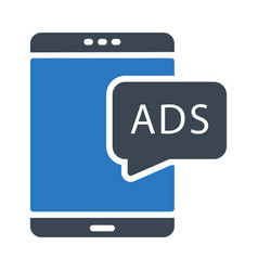 Mobile ads vector