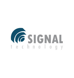 Signal technology logo vector