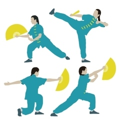 Wushu vector