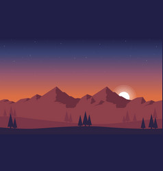 Background game style beauty landscape vector