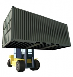 container vector image